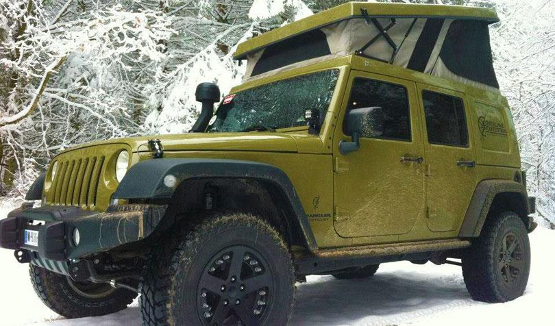 Ursa minor jeep pop top camper