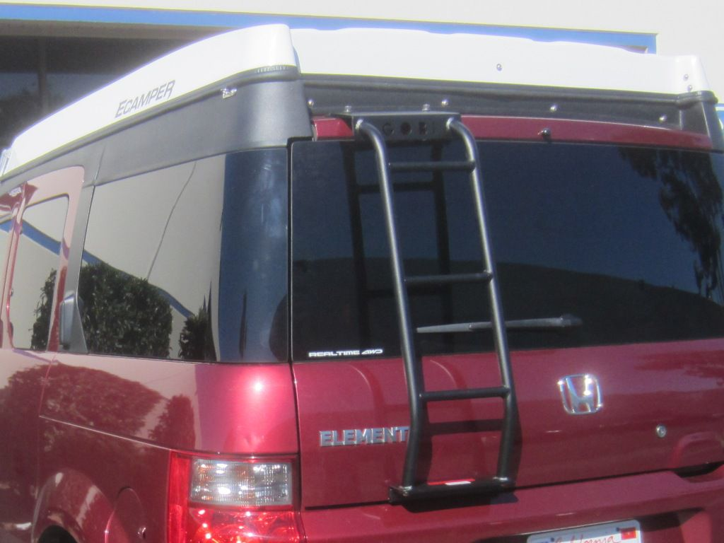Gobi ECamper Rear Ladder - Installed