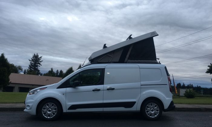 Ford Transit Van >> Ford Transit Connect Lwb Cargo Van Conversion